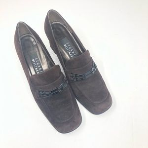 STUART WEITZMAN | Brown Suede Comfort Shoes 6.5B